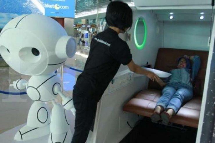 AP II Hadirkan Sleeping Pods di Bandara Soekarno-Hatta