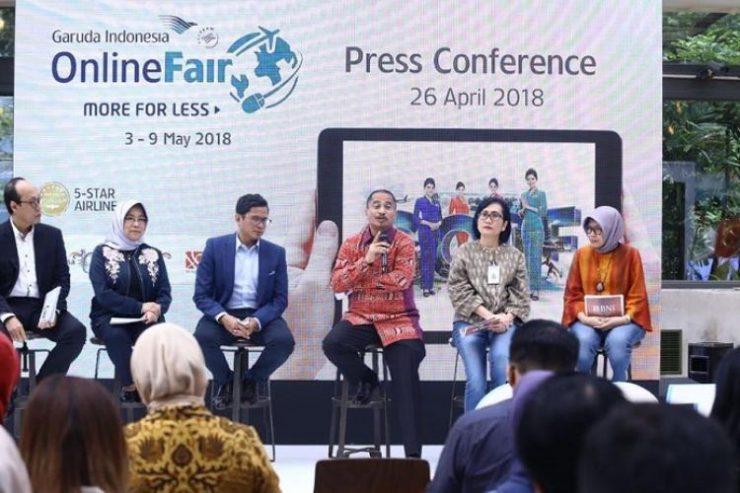 Garuda Indonesia Online Travel Fair Sinergikan Program Hot Deals