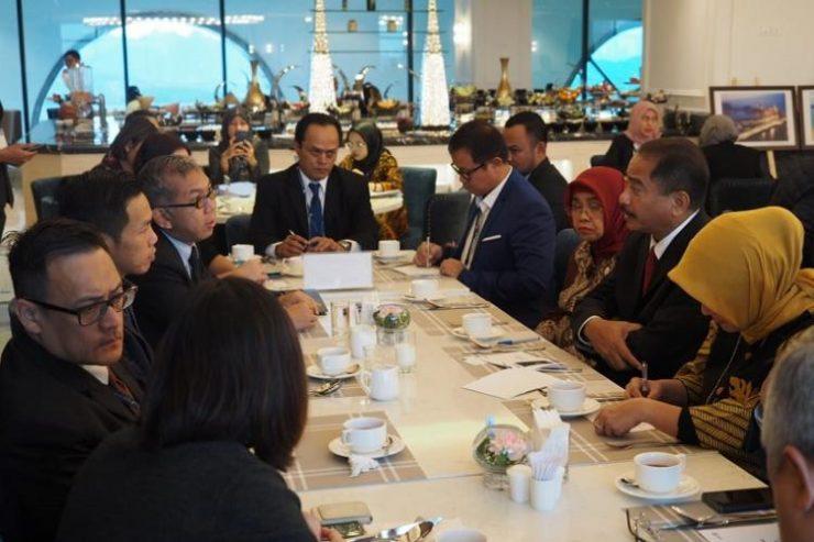 Kemenpar Mantapkan Singapura sebagai Tourism Hub bagi Indonesia