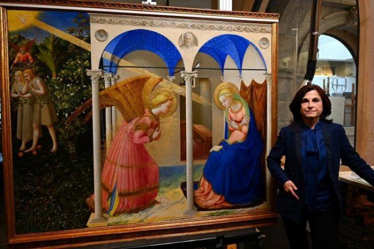 Spain's Prado Museum Unveils Restored Fra Angelico Masterpiece