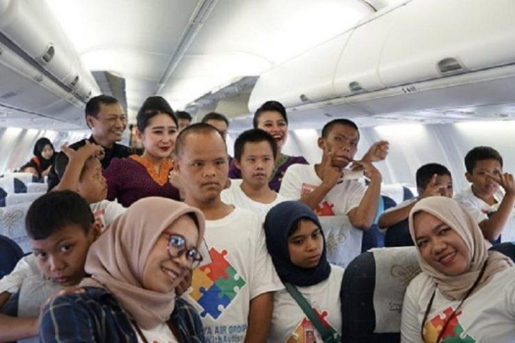 Sriwijaya Air Group Gelar Acara Sosial #StandwithAutism