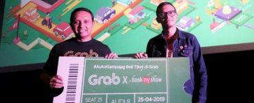Grab Gandeng BookMyShow Luncurkan Fitur Pemesanan Tiket