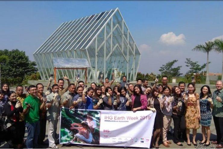 IHG Group Indonesia Rayakan Pekan Hari Bumi 2019