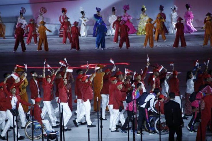 Opening Ceremony Asian Para Games Menjadi Trending Topic