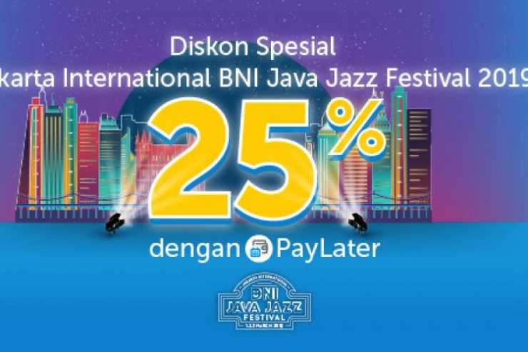 Traveloka Dukung Jakarta Int'l BNI Java Jazz Festival 2019