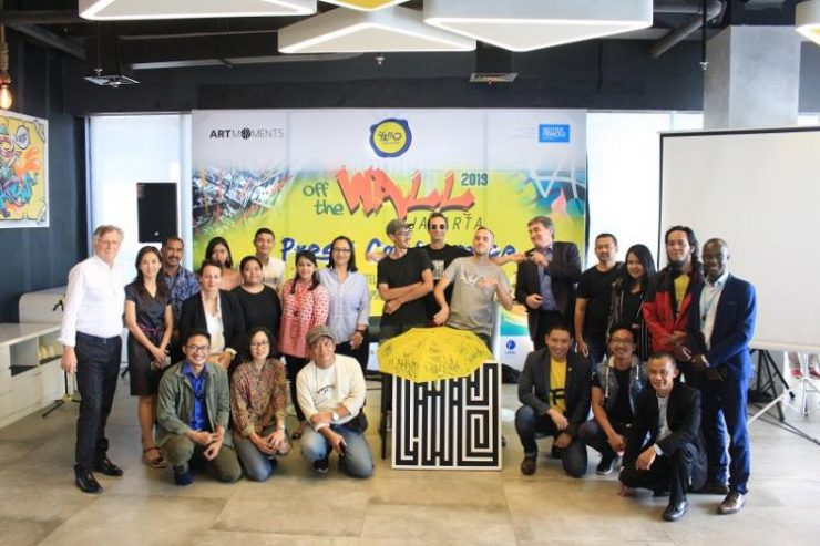 Yello Hotels & IFI Gelar Seni Graffiti Indonesia-Perancis